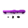Honda / Acura B Series GEM Fuel Rails-Fuel Rails-Purple-8AN Fitting + 3/4 Boss Plug-GoldenEagleMfg
