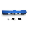 Honda Civic D Series GEM Fuel Rails-Fuel Rails-Blue-10AN Fitting + 3/4 Boss Plug-GoldenEagleMfg