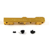Honda Civic D Series GEM Fuel Rails-Fuel Rails-Gold-6AN Fitting + 3/4 Boss Plug-GoldenEagleMfg