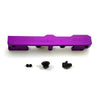 Honda Civic D Series GEM Fuel Rails-Fuel Rails-Purple-6AN Fitting + 3/4 Boss Plug-GoldenEagleMfg