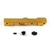Honda Civic D Series GEM Fuel Rails-Fuel Rails-Gold-8AN Fitting + 3/4 Boss Plug-GoldenEagleMfg