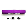 Honda Civic D Series GEM Fuel Rails-Fuel Rails-Purple-8AN Fitting + 3/4 Boss Plug-GoldenEagleMfg