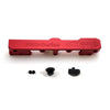 Honda Civic D Series GEM Fuel Rails-Fuel Rails-Red-8AN Fitting + 3/4 Boss Plug-GoldenEagleMfg