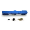 Honda Civic D Series GEM Fuel Rails-Fuel Rails-Blue-OEM Banjo Fitting + 3/4 Boss Plug-GoldenEagleMfg