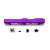Honda Prelude H Series GEM Fuel Rail-Fuel Rails-Purple-6AN Fitting + 3/4 Boss Plug-GoldenEagleMfg
