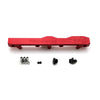 Honda Prelude H Series GEM Fuel Rail-Fuel Rails-Red-6AN Fitting + 3/4 Boss Plug-GoldenEagleMfg