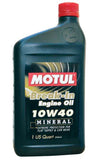 MOTUL  Engine Builder Break-In Oil; SAE 10W-40 Qrt - 6