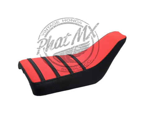 Z50R 1988-99 Complete Gripper Seat Black/Red