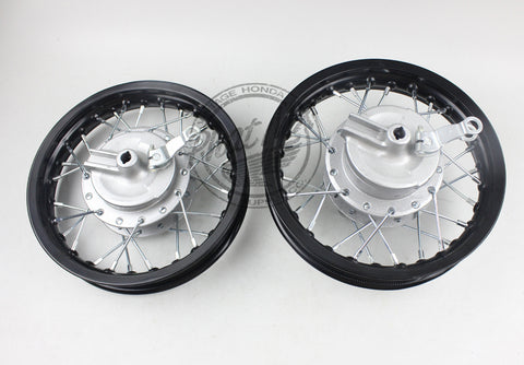 "10"" XR50 / CRF50 Wheel Set"