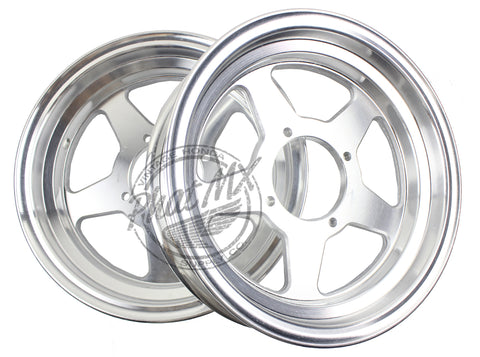 "Z50 One Piece 10"" Aluminum Five Spoke Wheel 2.50"" Front"