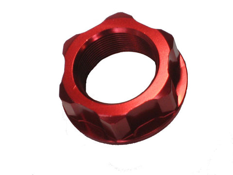 Red Steering Stem Nut