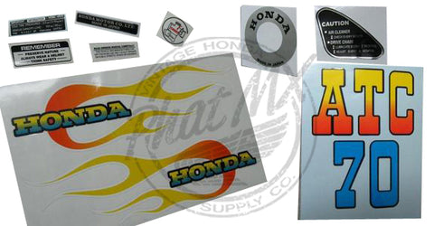 (temp sold out) ATC70 1973 Decal Kit