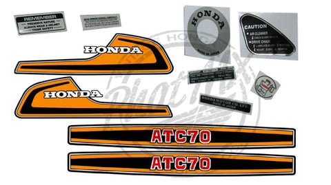 ATC70 1974 Decal Kit