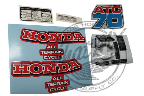 ATC70 1979 Decal Kit (special Order)