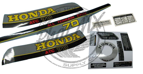 ATC70 1980 Decal Kit