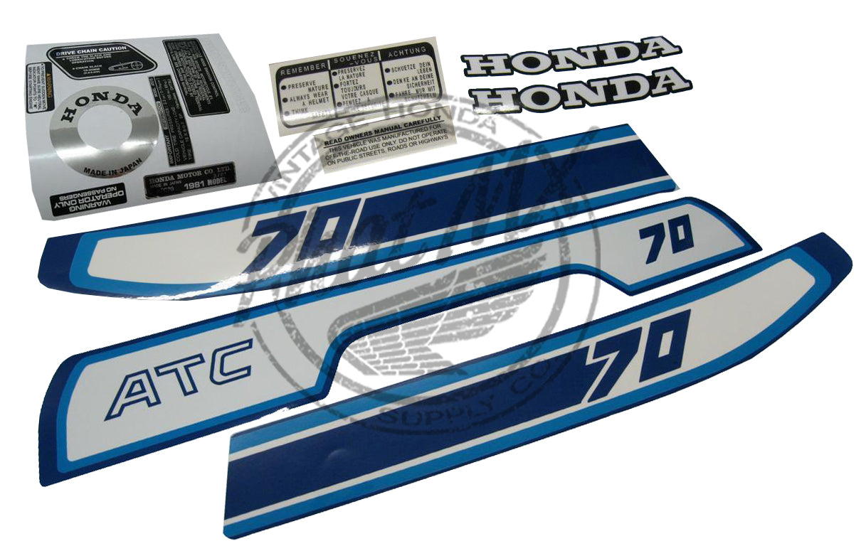 Atc70 1981 decal kit