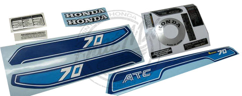 (temp SOLD OUT) ATC70 1982 Decal Kit