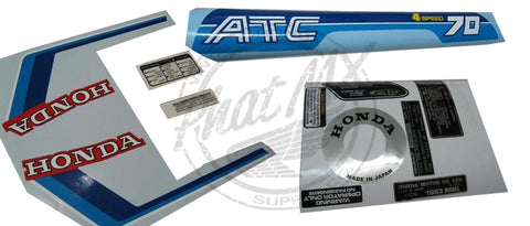 (temp SOLD OUT) ATC70 1983 Decal Kit
