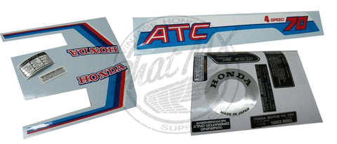 ATC70 1983 X-MAS Decal Kit (temp SOLD OUT)