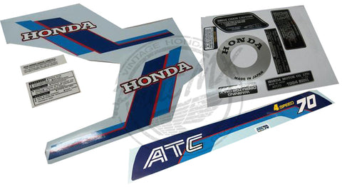 ATC70 1984 Decal Kit
