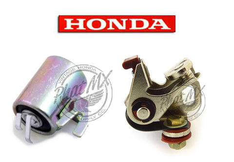(temp sold out) OEM Honda Points & Condenser 50cc/70cc