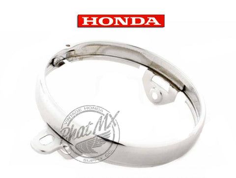 OEM Honda Headlight Ring Z50 1969-71
