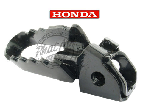 OEM Honda Black Foot Peg