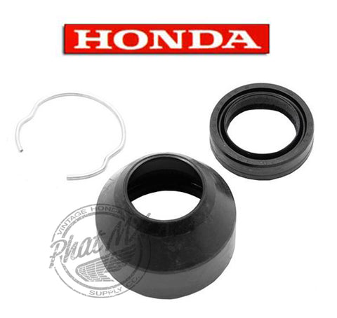 (temp sold out) OEM Honda  CT70 Fork Boot & Clip
