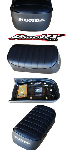 ATC70 Seat 78-83 Black Ribbed