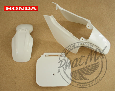 OEM Z50R 88-99 White Plastic Set