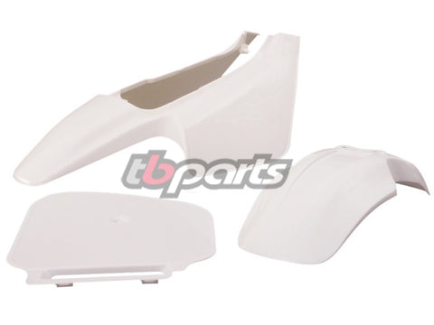 Z50R 88-99 White Plastic Set