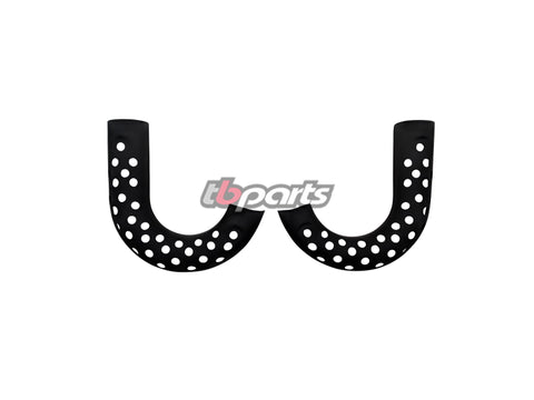 Z50 1972-78 Lower Muffler Guards Black