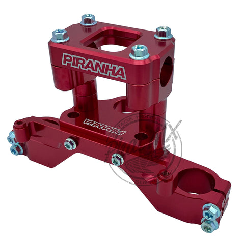 Piranha CRF110 Top Clamp Red