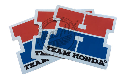 Team Honda Decals