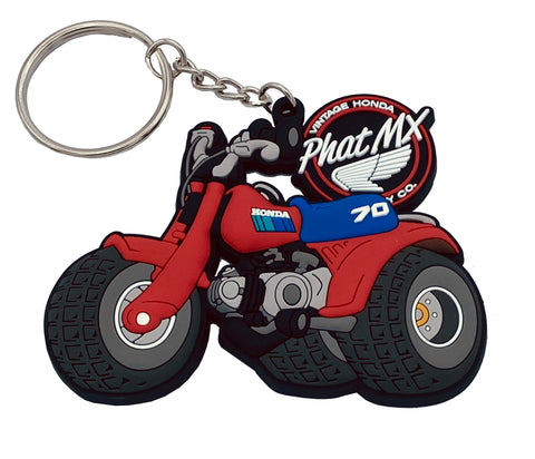 Honda ATC70 Key Chain