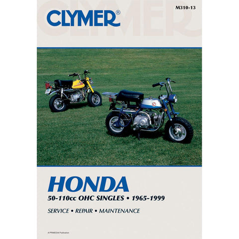 (Temp sold out) Clymer Repair Manual 50cc-110cc
