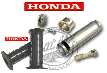 Honda Throttle Kit Z50 1972-78 w/ Grips