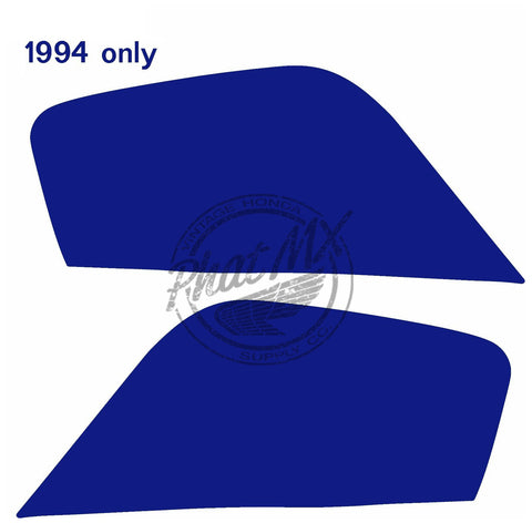 Z50R 1994 Side Number Plate Decals