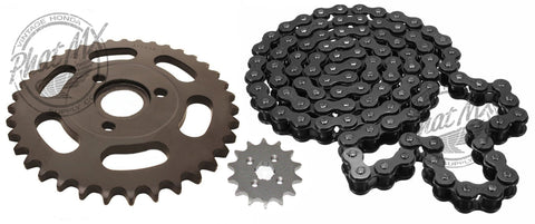 (temp sold out) Sprocket Set Black
