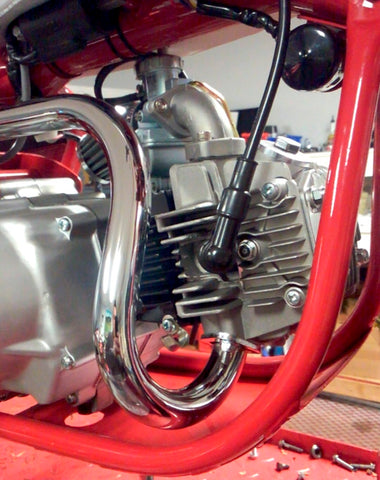 (temp sold out) Z50 Polished Exhaust K0-K2