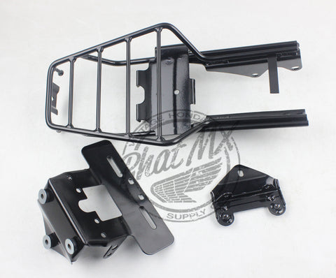 (Temp sold out) Black Rear Carrier Rack Honda Z50