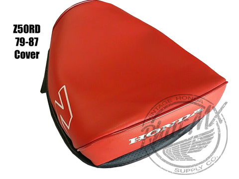 (temp sold out) Z50 79-87 Seat Cover Red