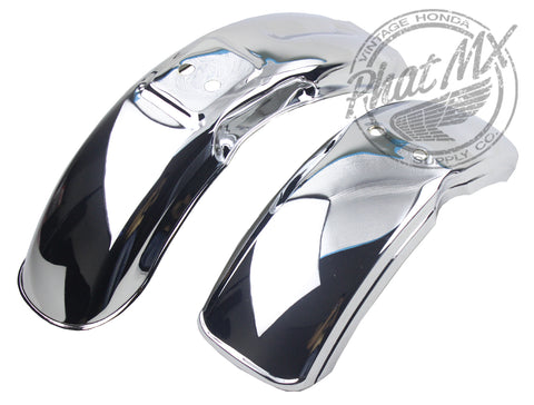 (rear sold out) Z50 Chrome Steel Fender