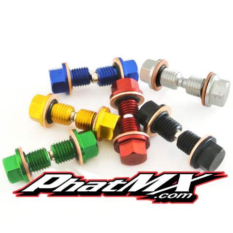 Colored Drain Plugs