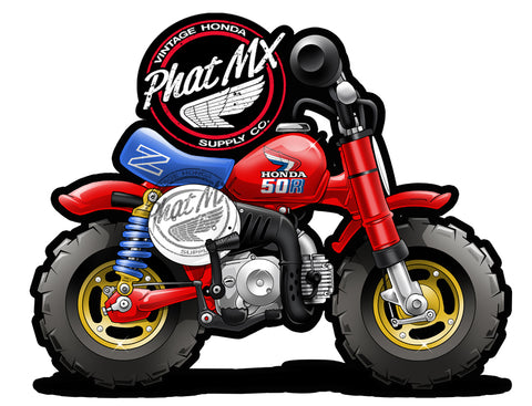 Honda Z50R 1986  Decal / Sticker