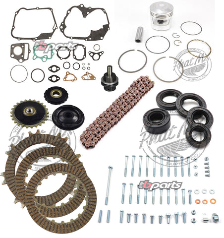 (temp sold out eta Oct 2) Ultimate 70cc Rebuild Kit 1972-81 CT70