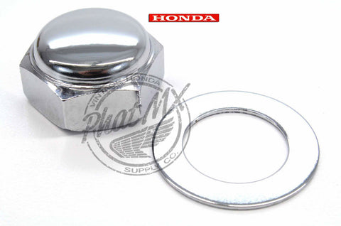 OEM Honda Steering Stem Nut/Washer