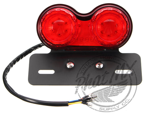 Dual L.E.D. Tail Light 12V