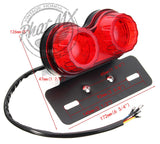(temp sold out red) Dual L.E.D. Tail Light 12V