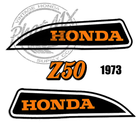 Z50 K3-78 Tank Decals / Side Decals
